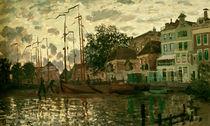 Monet, Der Dam in Zaandam am Abend von AKG  Images