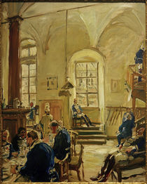 M. Slevogt, Hartschierwache by AKG  Images