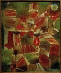 P. Klee, Architectur m. d. Fenster von AKG  Images