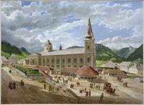 Mariazell, Wallfahrtskirche  /  Aquarell von E. Gurk by AKG  Images