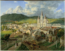Mariazell vom Annaberg  /  Aquarell von E. Gurk by AKG  Images