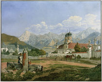 Stift Admont / Aquarell von Jakob Alt by AKG  Images