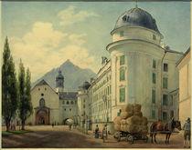 Innsbruck, Hofburg und Franziskanerkirche  / Aquarell von J. Alt by AKG  Images
