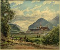 Stift Wilten bei Innsbruck / Aquarell von J. Alt by AKG  Images