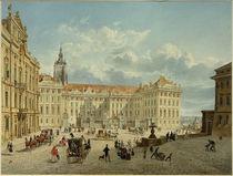 Prag, Hradschin  / Aquarell von E. Gurk by AKG  Images