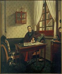 P.Schwingen, Johann Friedrich Wülfing / Gemälde, um 1840/42 by AKG  Images