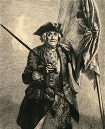 Curt Chr. von Schwerin / Menzel 1853 by AKG  Images