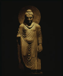 Budha / Indian sculpture by AKG  Images