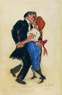 Tanzendes Paar / Zng. v. Zille von AKG  Images