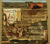 Plakatwand / By Heinrich Zille / Collage, 1919. by AKG  Images