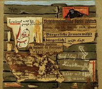 H.Zille, Plakatwand 1919 / Collage von AKG  Images