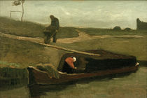V. van Gogh, Peat boat with two figures by AKG  Images