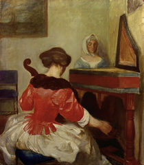 A.Macke / The Concert / Copy after ter Borch by AKG  Images