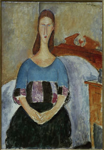 A.Modigliani, Jeanne Hébuterne Sweater by AKG  Images