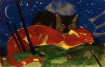 Franz Marc / Two Cats / 1913 by AKG  Images