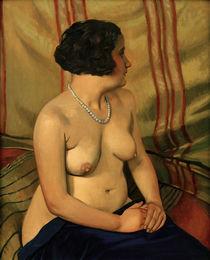 F.Vallotton, Frau mit blauer Halskette von AKG  Images