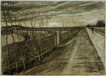 V. van Gogh, Country Road / Draw./ 1882 by AKG  Images