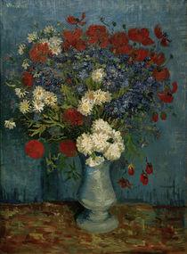 V. van Gogh, Vase mit Kornblumen von AKG  Images