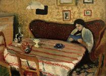 A.Macke, Unser Wohnzimmer in Tegernsee von AKG  Images