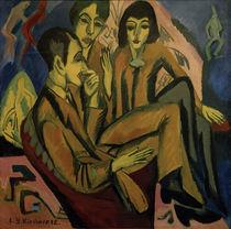 E.L.Kirchner, Unterhaltung der Künstler von AKG  Images