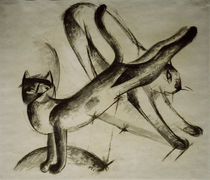 Franz Marc, Cats playing / 1912/13 by AKG  Images