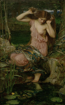 J.W.Waterhouse, Lamia / painting 1909 by AKG  Images