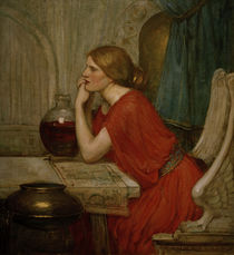 J.W.Waterhouse, Circe / Ölskizze, 1911–14 von AKG  Images
