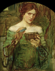 J.W.Waterhouse / The Love Philtre by AKG  Images