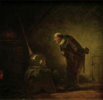 C.Spitzweg, Der Alchimist by AKG  Images