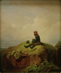 C.Spitzweg, Once upon a time (Guard) by AKG  Images