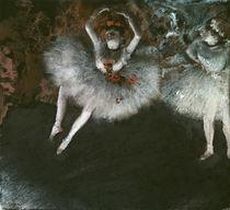 E.Degas, Le pas battu / Pastell von AKG  Images