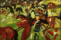August Macke / Hussars on Horseback by AKG  Images
