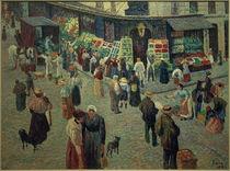 M.Luce, Rue des Abbesses, Krämerladen by AKG  Images