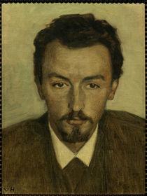 Vilhelm Hammeshöi / Gemälde von Georg Achen by AKG  Images