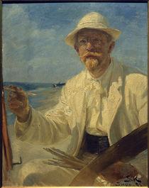Peder Severin Kröyer, Selbstporträt des Künstlers, 1897 by AKG  Images
