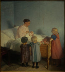 A. Ancher, Der kleine Bruder by AKG  Images