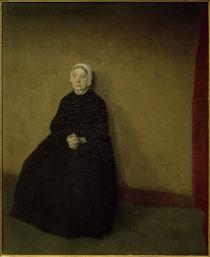 V. Hammershöi, Eine alte Frau von AKG  Images