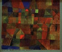 P.Klee, Stadt mit den drei Kuppeln von AKG  Images
