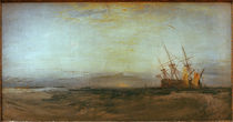 W.Turner, A Ship Aground by AKG  Images