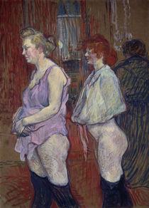 Toulouse-Lautrec / Rue des Moulins /1894 by AKG  Images