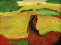Horse in a Landscape / F. Marc / Painting, 1910 by AKG  Images