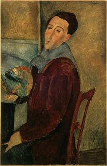 Amedeo Modigliani / Self-Portr. /  c. 1910 by AKG  Images