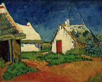 V. van Gogh, Huts in Saintes Maries by AKG  Images