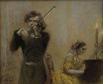 Clara Schumann & Joseph Joachim / Menzel by AKG  Images