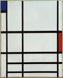 Composition with Red, Blue and White II / P. Mondrian / Painting by AKG  Images