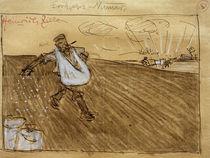 Heinrich Zille, Korl beim Säen, Vadding beim Pflügen by AKG  Images