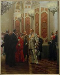 Friedrich III. auf Hofball / Werner von AKG  Images