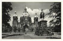 Berlin, Westseite des Doms / Fotopostkarte by AKG  Images