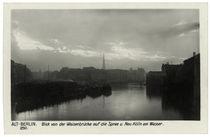 Berlin, Spree und Neukölln am Wasser / Fotopostkarte, um 1900 by AKG  Images