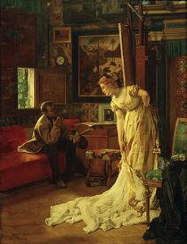 A.Stevens, Der Maler od. Das Atelier by AKG  Images